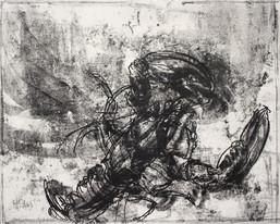 Monotype, homard, 40 x 50 cm, 2019 (2).j