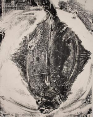 Monotype, carrelet, 50 x 40 cm, 2018(4).