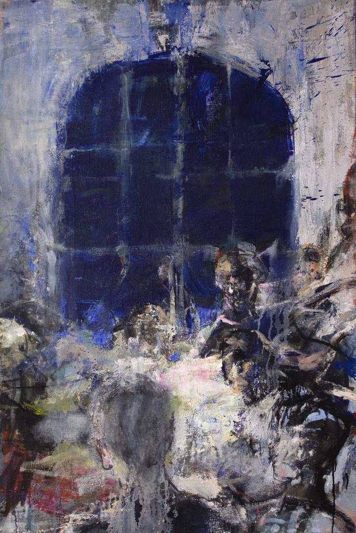Fenêtre 2, 150 x 100 cm