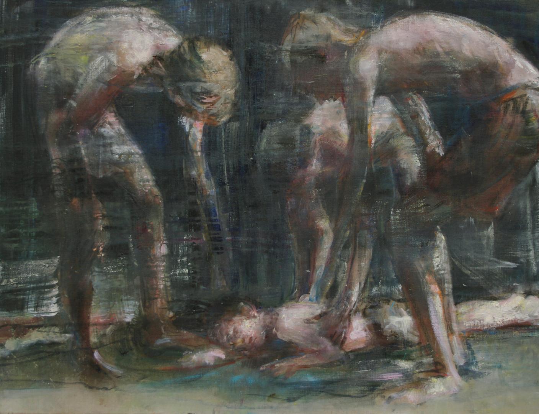 Jeux, 89 x 116 cm