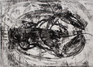 Monotype, homard, 40 x 50 cm, 2019.jpg