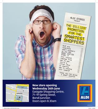 Aldi BMF Advertising