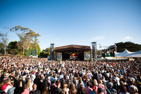 Falls festival Getty images