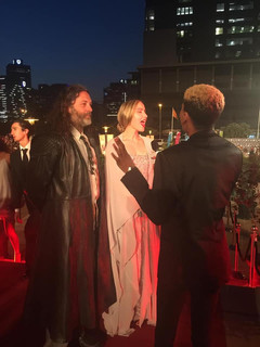 Roxane Hayward Interviewed on the Red Carpet