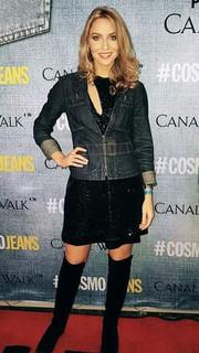 Roxane Hayward wearing Stefania Morland
