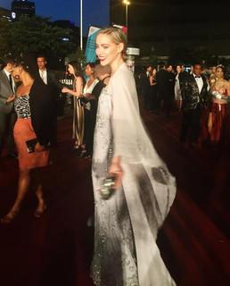 Roxane Hayward wearing Jacques Le Grange