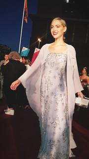 Roxane Hayward Red Carpet wearing Jacques Le Grange