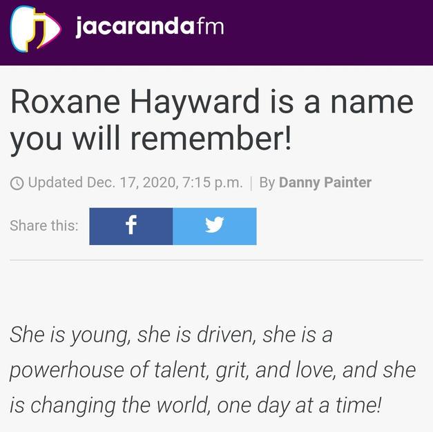 Jacaranda FM Radio Interview