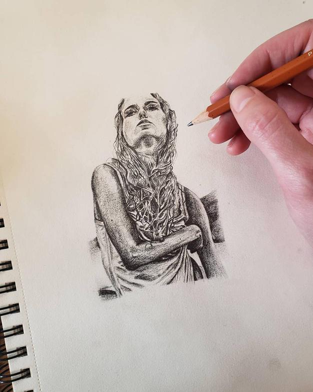 Pencil Dreams by Roxane Hayward