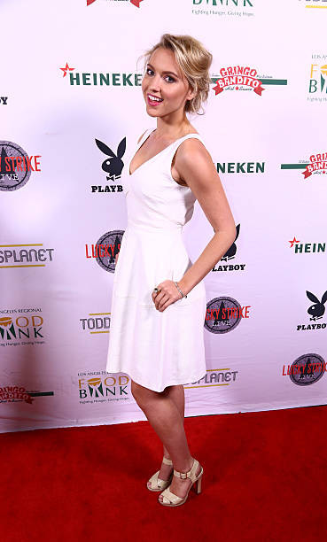Roxane Hayward Bowling For Bunnies Red Carpet