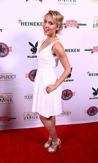 Roxane Hayward Bowling For Bunnies Red Carpet