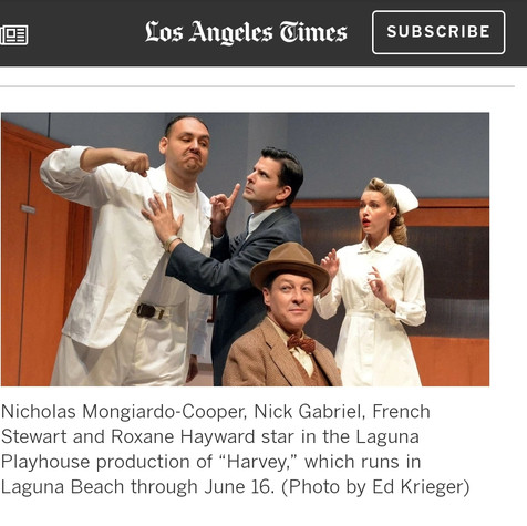 Roxane Hayward featured in LA Times for