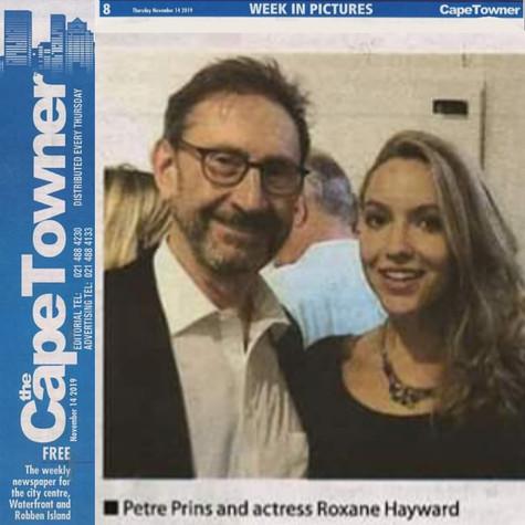 Roxane Hayward andPetre Prins at the Som