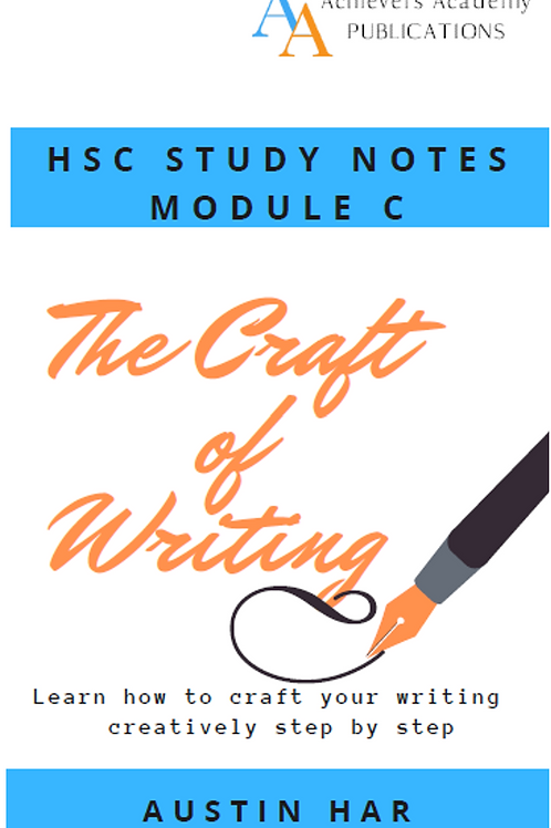 The Craft of Writing by Austin Har