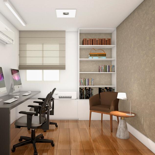 Home Office Recreio dos Bandeirantes