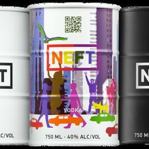 NEFT Vodka represents equality&pride with artisanal spirits
