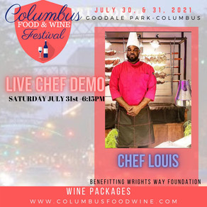 Food & Wine Fest Interview with Chef Louis