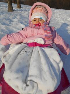 Първи сняг и шейна.JPG