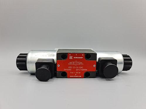 Control valve 4/2 NG6 80l/min 24VDC