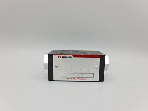 Controlled check valve NG6