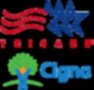 Tri Care & Cigna logos
