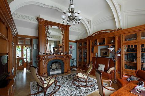 стиль арт-нуво в интерьере дома