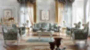 стиль барокко в дизайне интерьера