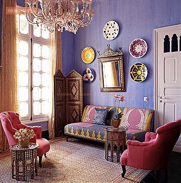 Заказать дизайн проект в индийском стиле Александрова дизайн