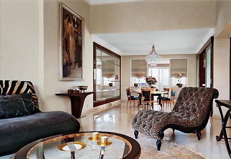 заказать дизайн интерьера квартиры в стиле арт-деко