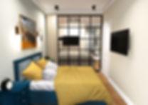 перепланировка однокомнатной квартиры 40 кв м