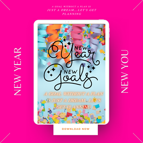 NEWYEAR NEW U PLANNER (Digital)