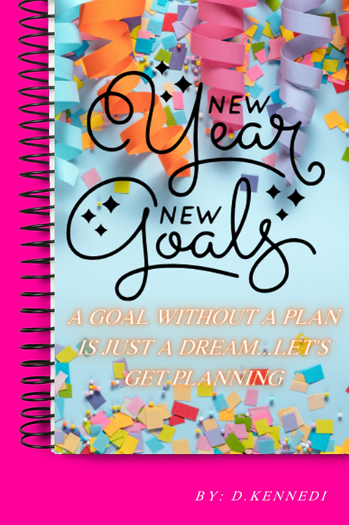 New Year New U Planner (Hardcopy)