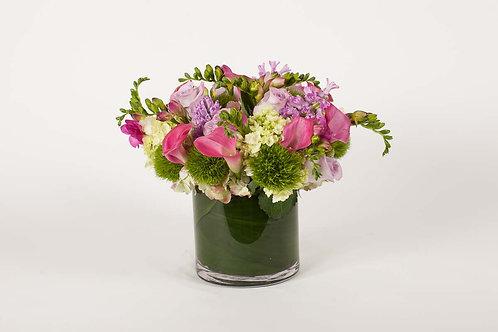 Hydrangea, Hyacinth & Freesia