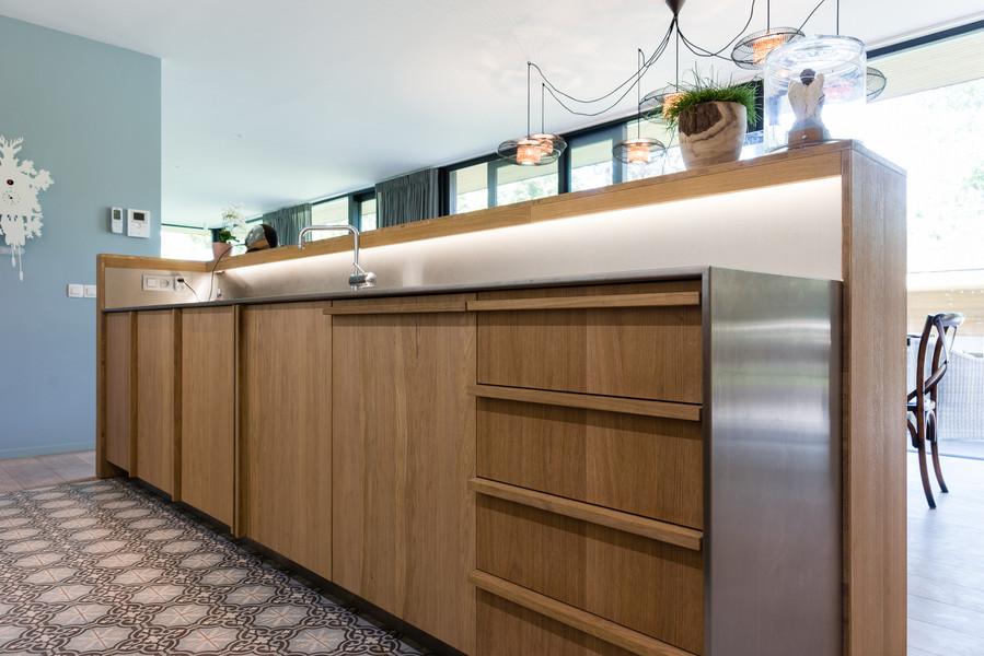 Keuken met tegeltjes - Foto door Dirk De Cubber