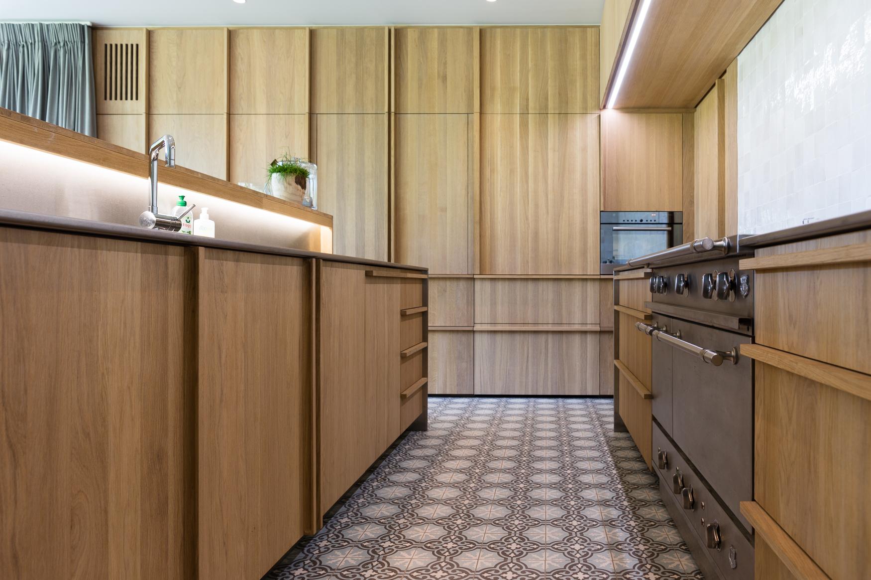 Keuken met tegels - Foto door Dirk De Cubber
