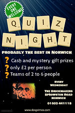 Copy of Quiz Trivia Night Poster Templat