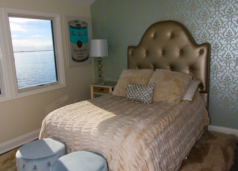 Chic Guest Bedroom with Accent Wall.jpg