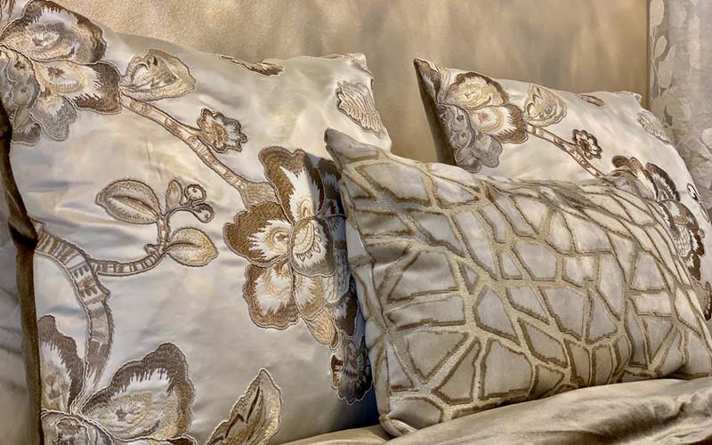 Modern Guest Bedroom Pillows