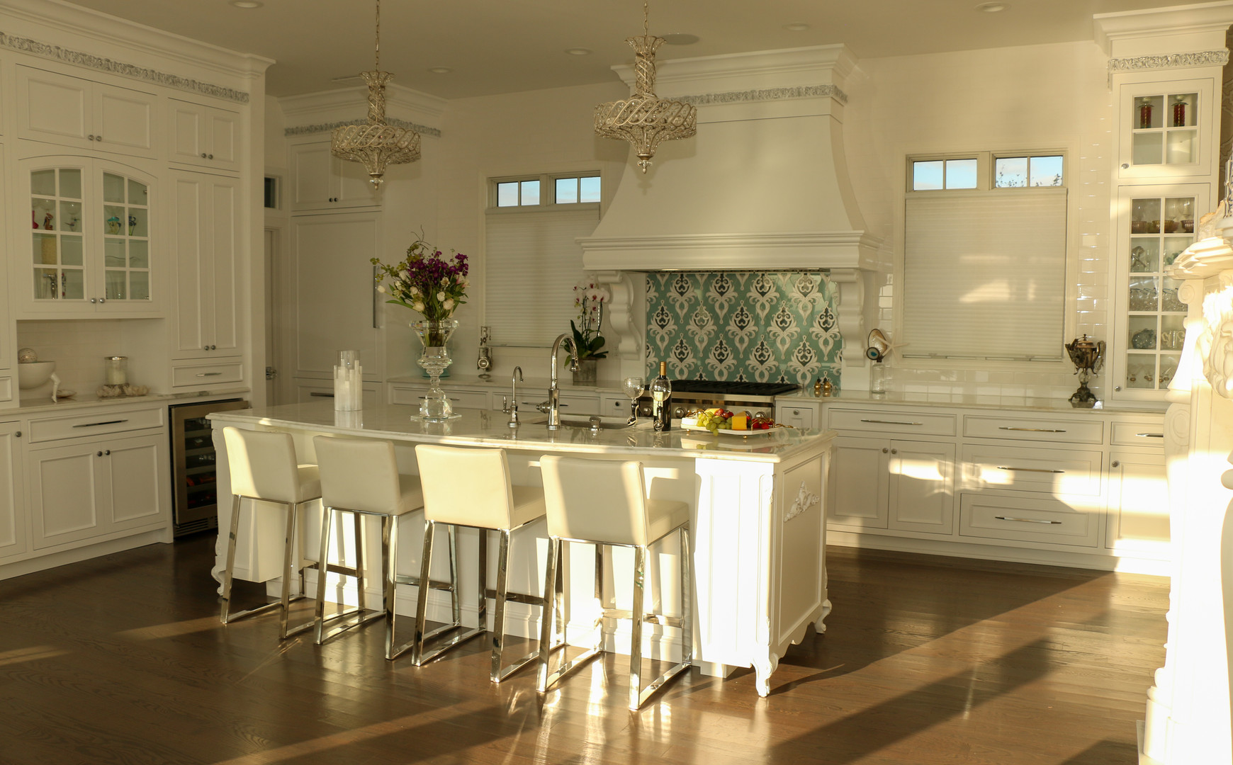 White Kitchen with Coastal Accents.jpg