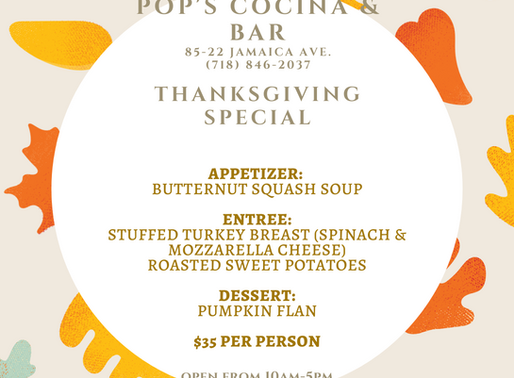 Dining Out This Thanksgiving?