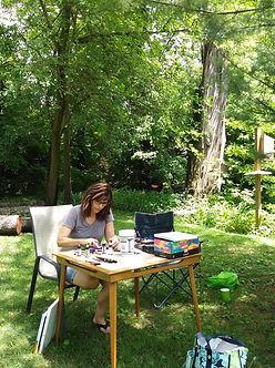 plein air at Ellen Brenneman home (3).jp