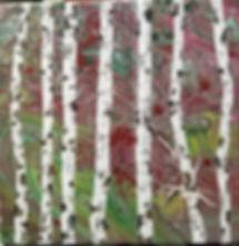 Suzan Wilkinson     Poured Acrylic    Bi