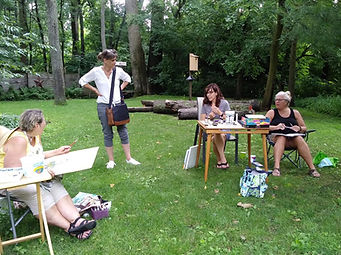 plein air at Ellen Brenneman home (4).jp