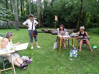 plein air at Ellen Brenneman home (4).jp