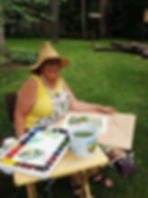 plein air at Ellen Brenneman home (6).jp
