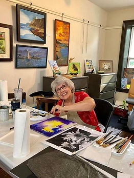 Painter Suzan Wilkinson shares her beaut