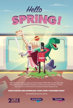 Hello Spring Ad Campaign