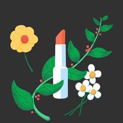 Floral Lipstick