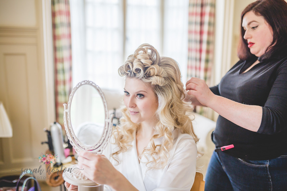 Combermere Abbey Cheshire Wedding Photography Bridal Prep
