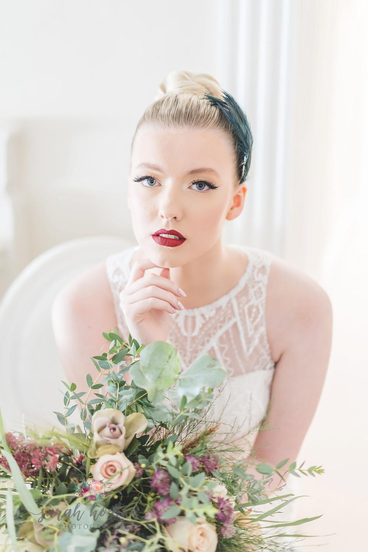 strong bridal make up look by Daniella Robinson